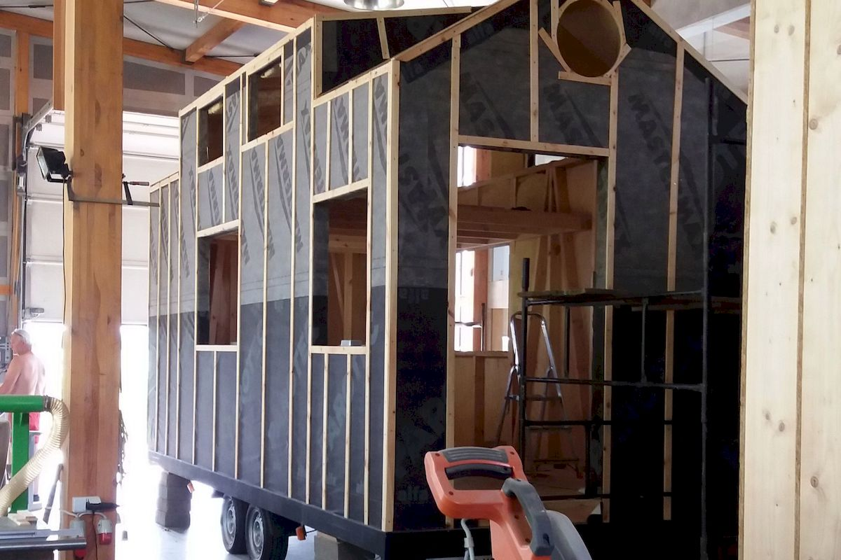EuroTinyHouse California Pare vapeur complet