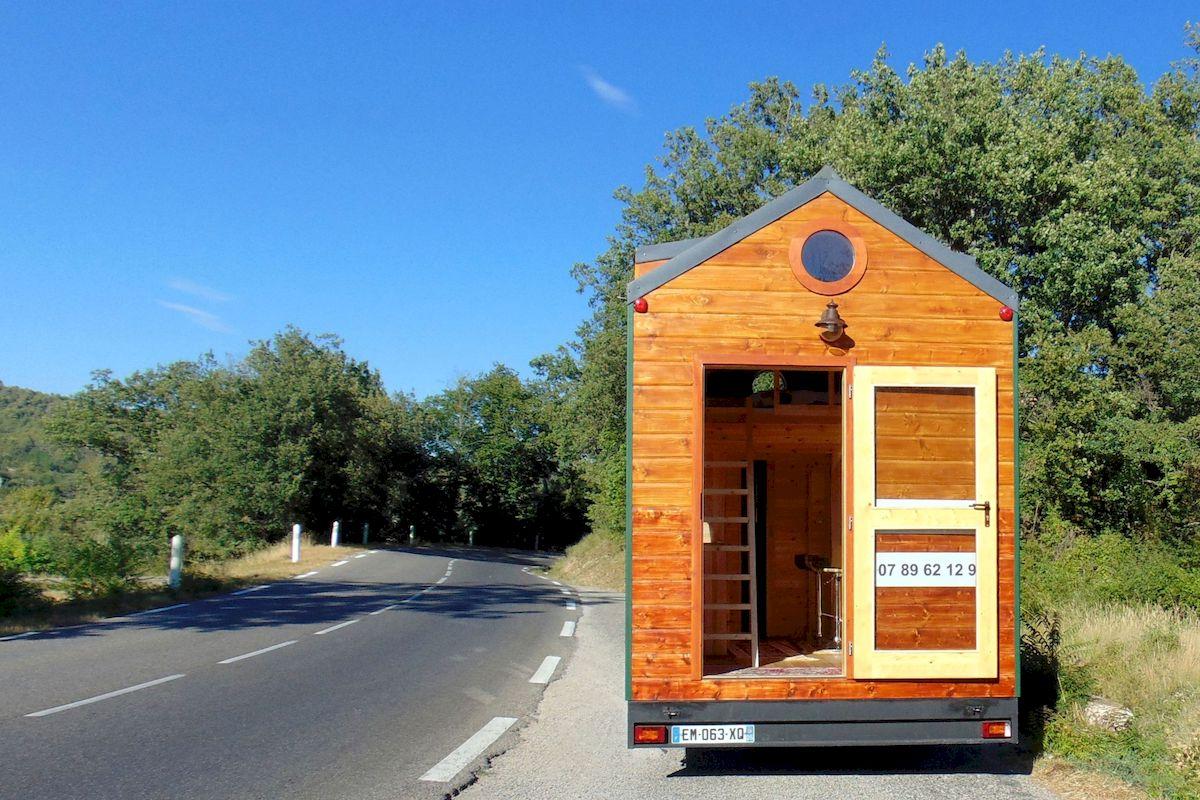 EuroTinyHouse California Visite sans la terrasse