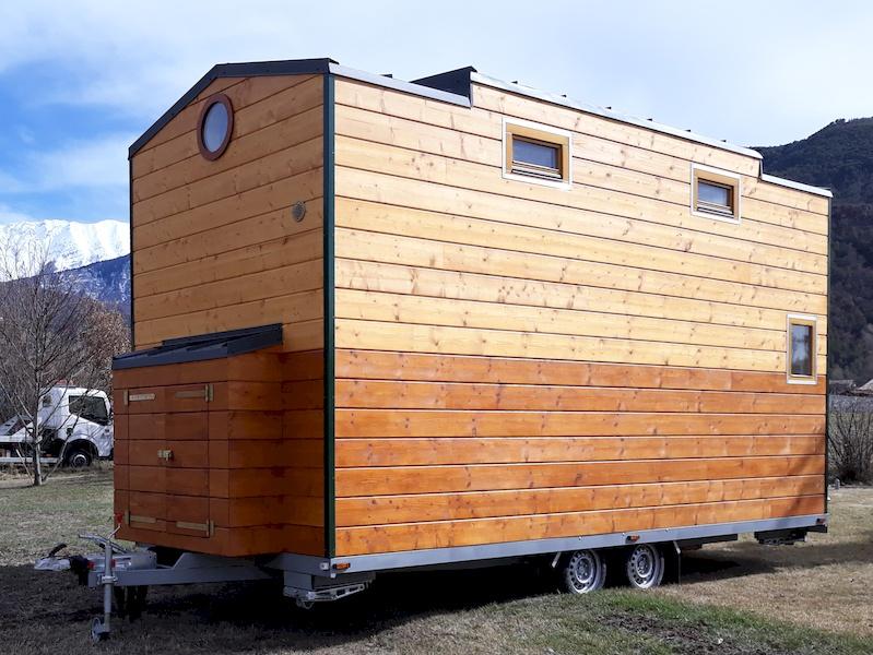 EuroTinyHouse crée et réalise votre Petite Maison Tinyhouse sur mesure