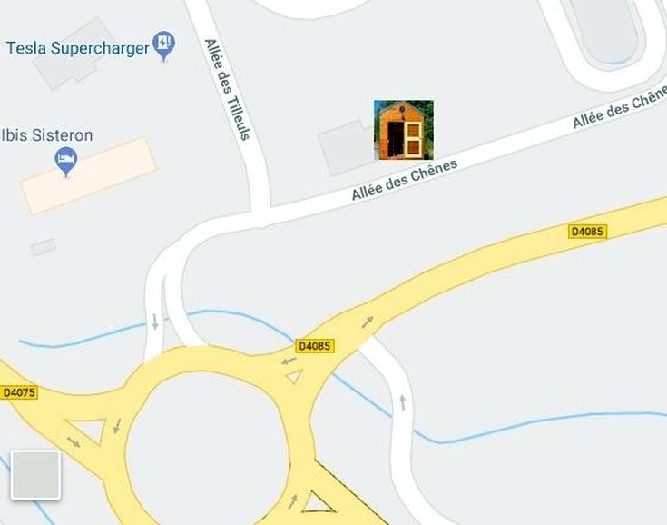 Plan Expo Sisteron-Nord