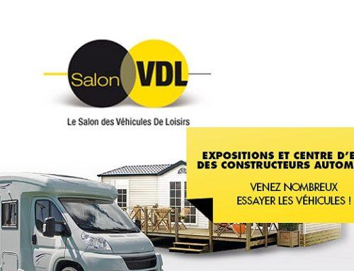 Salon des Véhicules De Loisir du Bourget 2018