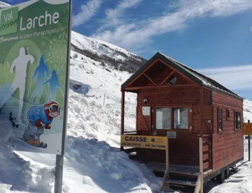 La Tiny House Ubaye Col de Larche