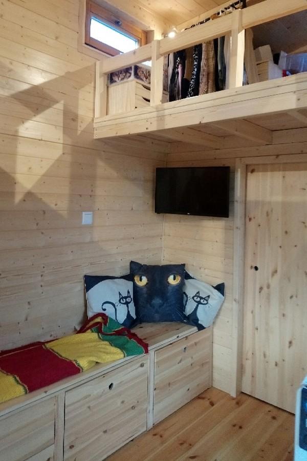 La TinyHouse de Solange: Chat !