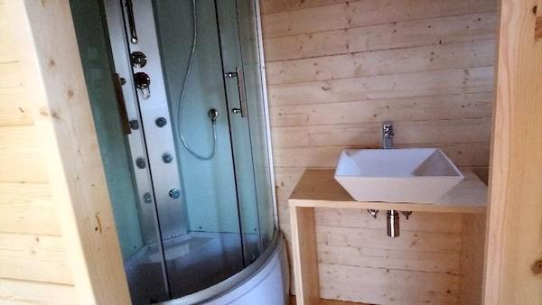 La TinyHouse de Solange: Salle de Bain