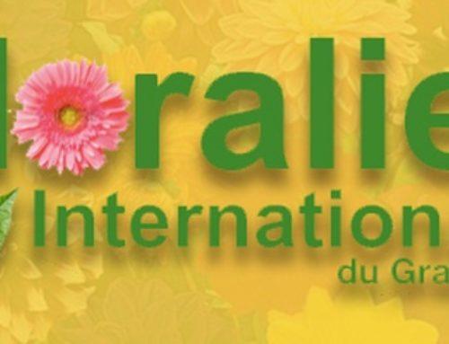 Exposition aux Floralies internationales du Grand Paris 2018