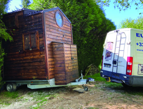 Tiny House livraison en France par Euro Tiny House